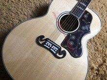OEM новый комплект 43-дюймового акустической гитары, Массив ели Топ, толщиной 2 мм накладку, g-стиль кленовый флейм по бокам и сзади, ручной работы на заказ guit