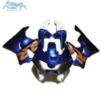 Partes del carenado de la motocicleta de alta calidad para HONDA CBR900RR 919 kit de carenados de reparación de cuerpo azul oscuro CBR919 98 99 CBR900 1998 1999