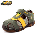 2017 Summer Boys Sneakers Beach Children Leather Shoes Casual Sports Sneakers Sandals Kids Anti-slip Hollow Air Sport Sneakers