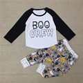 Los bebés Varones Primavera Ropa Linda del Muchacho del Algodón 2 Unids Conjunto de manga larga de la Camiseta + Pants Kids Fashion Leggings 20D