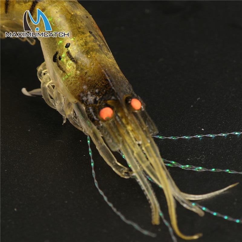 Maximumcatch 6 ədəd 10cm 6g Noctilucent Yumşaq Silikon Simulyasiya - Balıqçılıq - Fotoqrafiya 3