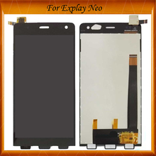 High Quality Touch Panel For Explay Neo LCD Display Screen with Touch Digitizer Panel Assembly IN Stock