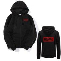 2018 Men Women Brand Marvel Hoodies High Quality Long Sleeves Casual Sweatshirt Hoodies Marvel Print Hoodie