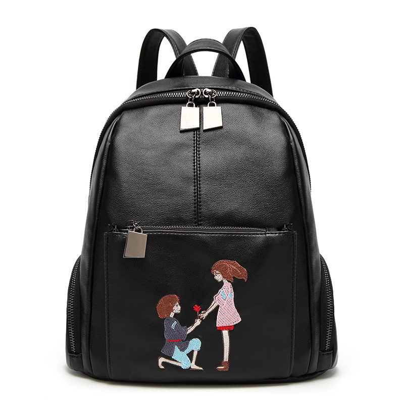 Backpack for girls 2017 new design fashion women backpack