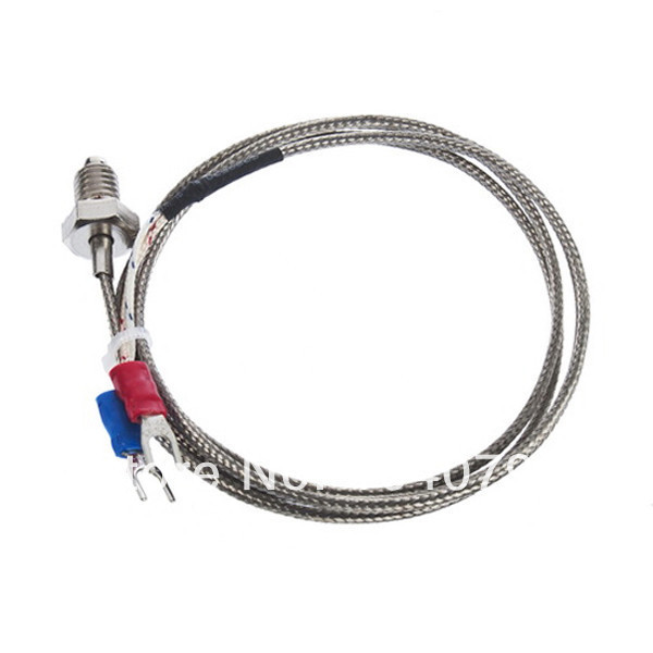 1M (6.6ft) K Type Sensor Screw Thermocouple Probe For Temperature Controller Dropshipping TK0375