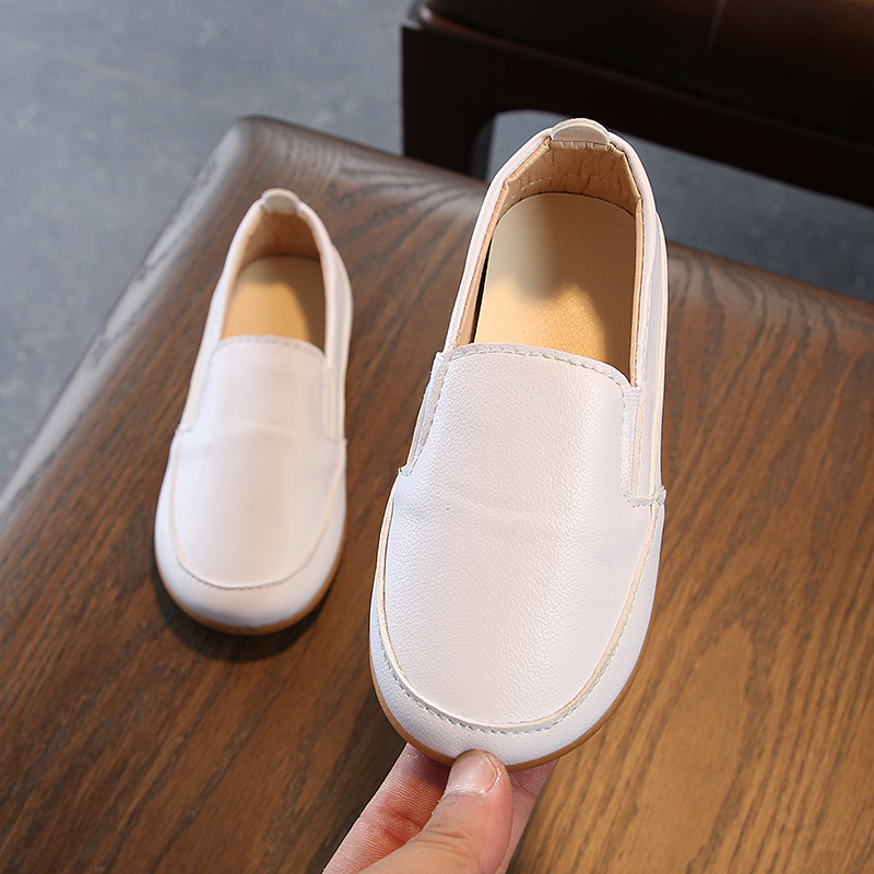 JGSHOWKITO Boys Girls Loafers Childrens Casual Shoes Kids School Flats New Fashion School-open Gift Students Pupils Shoes Soft