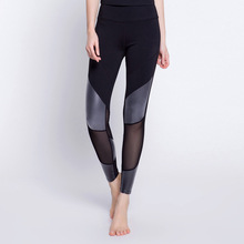 Women Sexy Yoga Pants Mesh Sport Pants Elastic Fitness Gym Pants Workout Running Tight Sport Leggings Female Trousers недорого