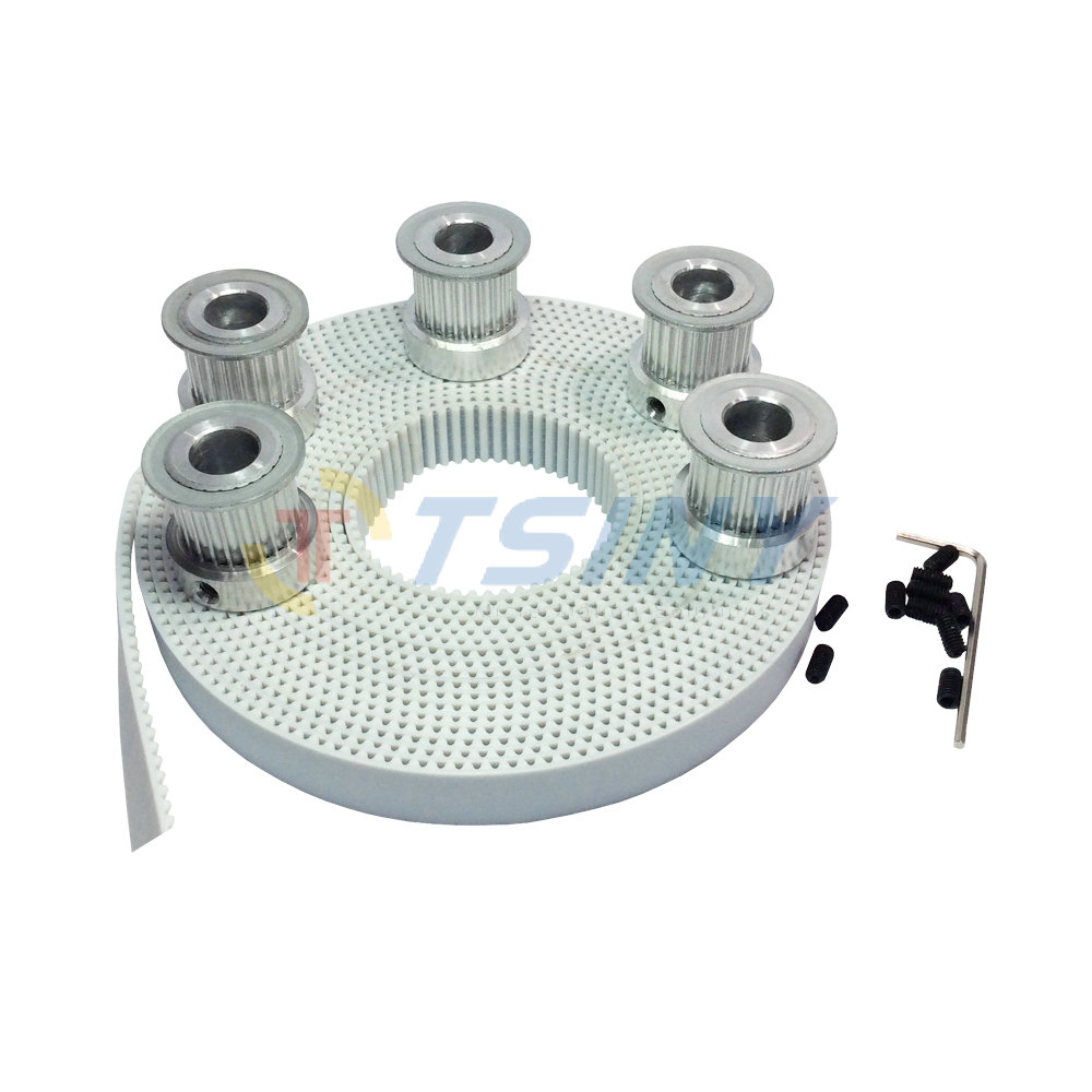 HTD 5pcs 15 Teeth 3M Pulley Bore 5/6/6.35/8mm + 5meters 3M Timing Belt Width 15mm HTD3M CNC Engraving Machine Parts 10meters htd 3m open ended timing belt width 15mm 10pcs 24 teeth bore 12mm 3m timing pulley for laser engraving cnc machines