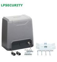 LPSECURITY 1000kg loading electric sliding gate door motor operators auto gate system with 4 remote controls