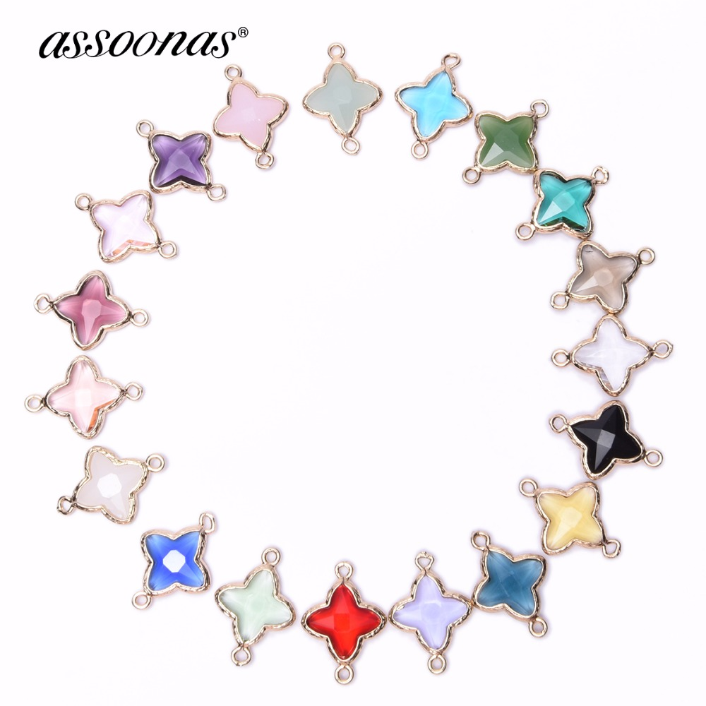 assoonas M116,jewelry supplies,jewelry accessories,accessories parts,diy necklace,crystal pendant,charms,hand made.Pendant,4pcs