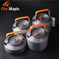 New Outdoor Heat Exchanger Collector Pot Camping Kettle Teapot For Picnic Travel Hiking Fire Maple FMC