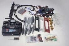 F550 Drone FlameWheel Kit With QQ ESC Motor Carbon Fiber Propellers + RadioLink 6CH TX RX+Skid PTZ FPV