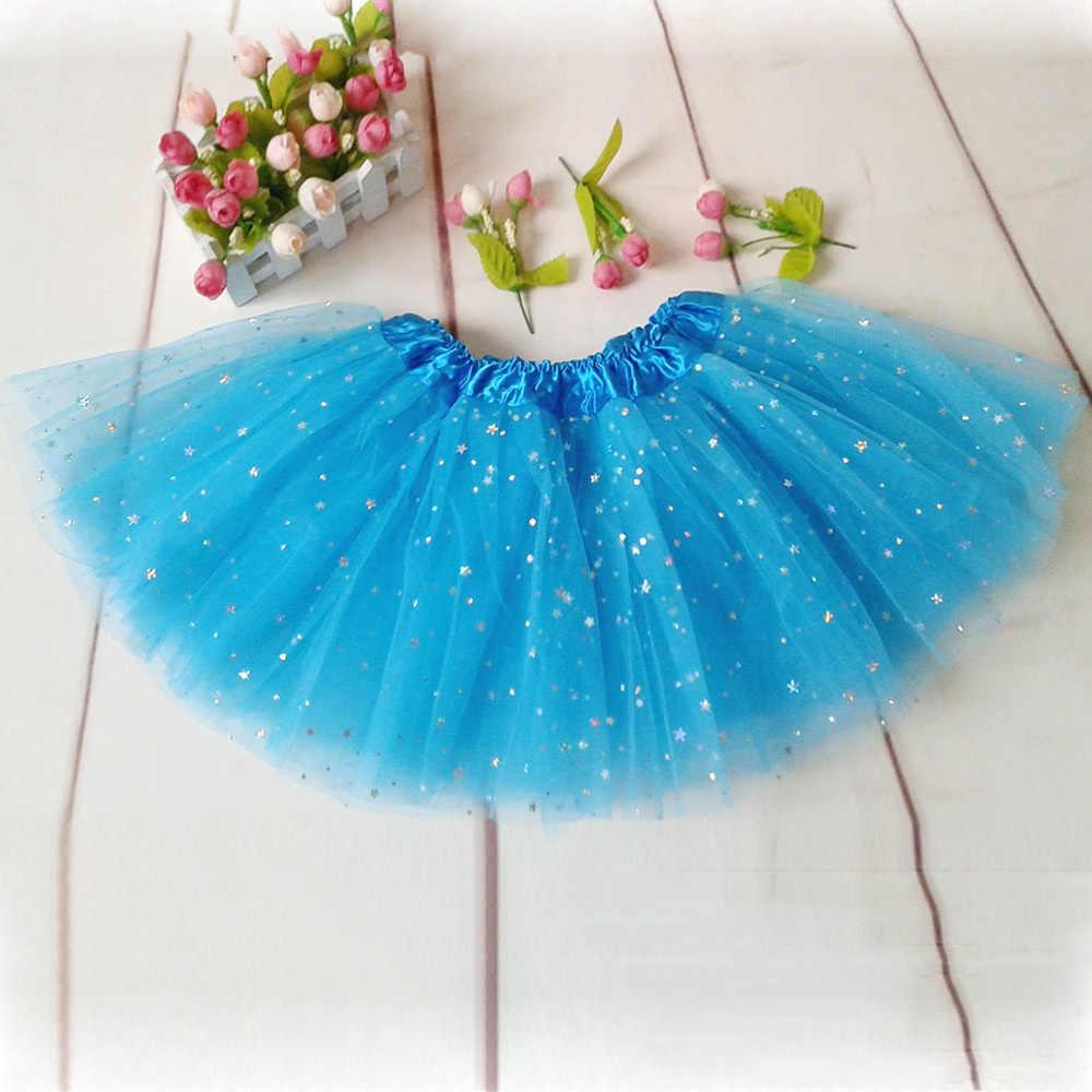 a86e20045 ... Girls Kids Tutu Skirt Princess Party Ballet Dance Wear Pettiskirt  Costume ...