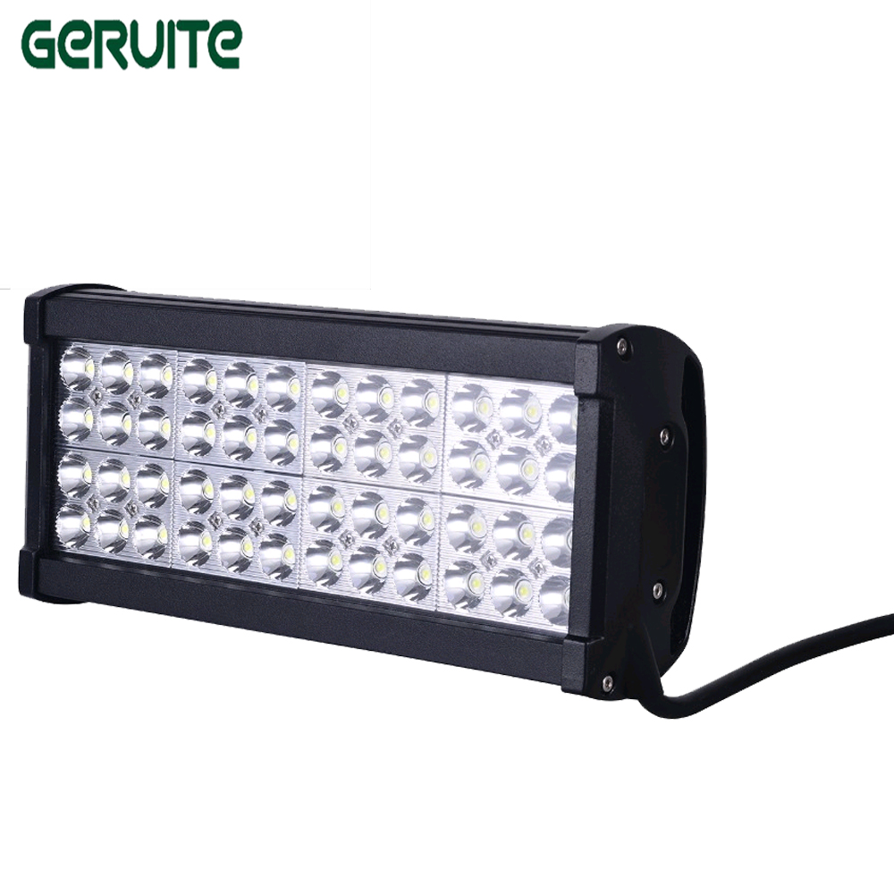 4 Rows 12inch 144W LED Light Bar Combo/Spot/Flood Beam For Off Road 4X4 Truck Tractor Boat SUV ATV LED Work Fog Light Bar tripcraft 12000lm car light 120w led work light bar for tractor boat offroad 4wd 4x4 truck suv atv spot flood combo beam 12v 24v