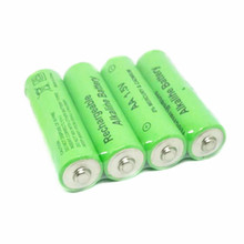 GTF 1PCS 1.5V 3000mah AA Battery alkaline Rechargeable Battery for Flashlight rechargeable Battery Portable LED powerbank cr123a