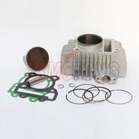 Качество 60 мм цилиндра поршень прокладка кольцо восстановить набор для YX160 YX 160cc 4 клапаны двигателя велосипед ямы