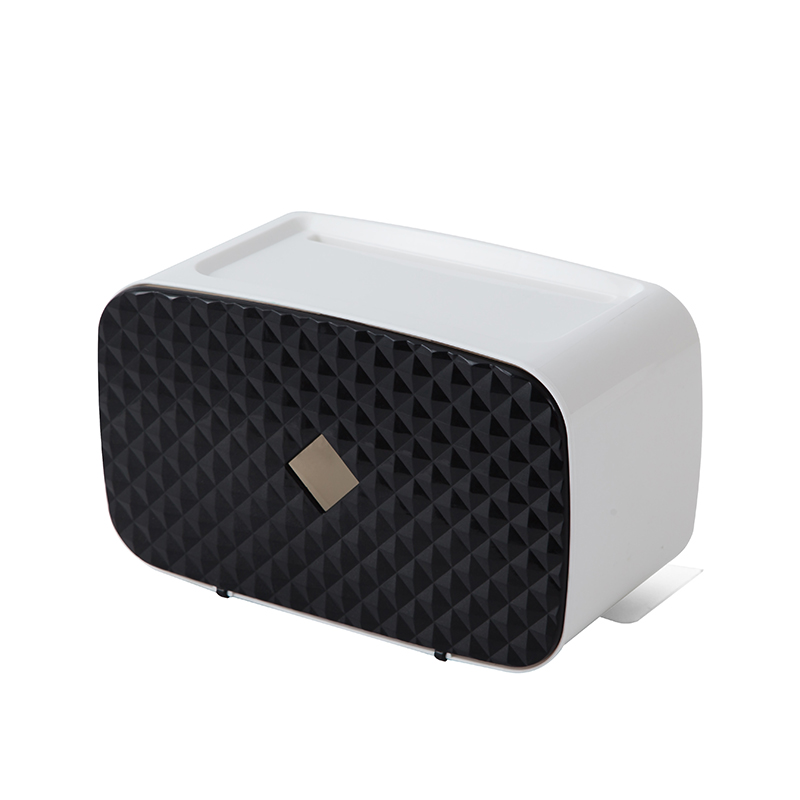 050 Fashion No label paste box for large capacity storage rack paper box tissue box 24 5 12 14 2cm in Tissue Boxes from Home Garden