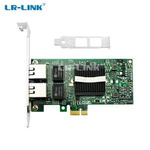 Image 2 - LR LINK 9212PT PCI Express 1x Desktop PC Gigabit Ethernet 1000Mbps Dual Port RJ45 Network Card Intel 82576 E1G42ET Compatible