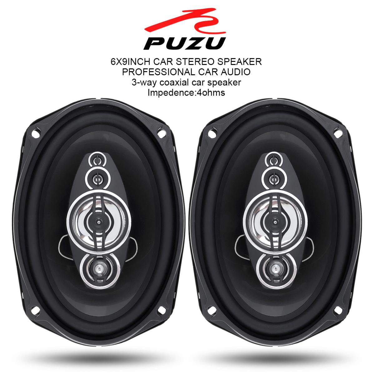 PZ-6922C 2pcs 6x9 Inch Car speakers 360W 3 Way Car Auto sound Audio speaker Music Stereo Full Range Frequency Hifi Speakers auto door component speakers a pair 2 way 2x180w 6x9 inch universal coaxial car speakers car audio stereo speaker