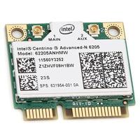 INTEL Advanced-N 6205 62205ANHMW Двухдиапазонная для ноутбука hp 631954-001 Беспроводная PCI EXPRESS 300 Мбит/с 2 4/5 ГГц сетевая карта