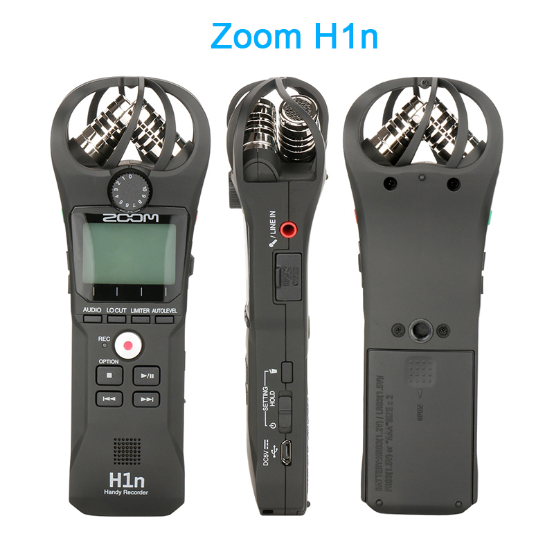 Zoom H1 H1n Handy Recorder Digital Camera Audio Recorder Interview