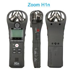 Image 2 - ZOOM H1 H1N poręczny rejestrator cyfrowy aparat fotograficzny rejestrator audio wywiad nagrywanie mikrofon stereofoniczny dla DSLR Boya BY M1 mikrofon