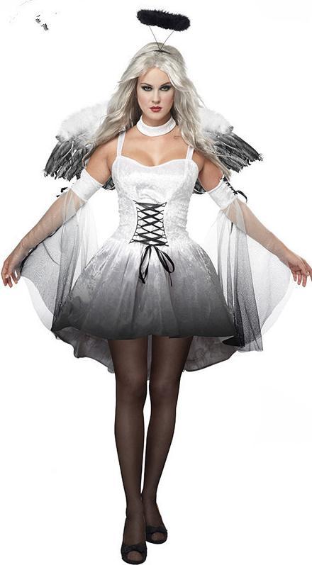 Эротический костюм черный ангел фото 426-259