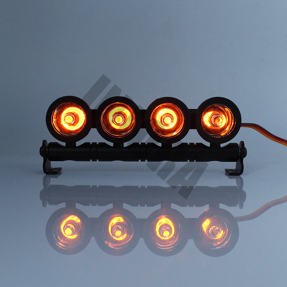 1//10 RC Rock Crawlers Modell Teil 2 LED Lampe Für Axial SCX10 Traxxas