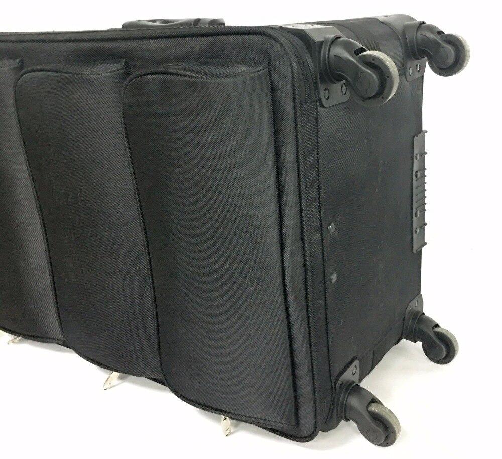Viaggio racconto Il lungo viaggio dei bagagli serie 26 pollice, impermeabile Dei Bagagli Spinner marca Valigia di Viaggio-in Valigia a rotelle da Valigie e borse su  Gruppo 2