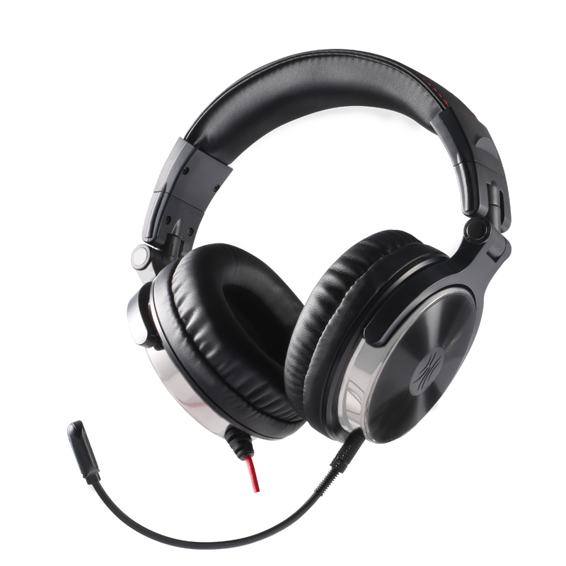Oneodio Stereo Gaming Headset For Phone PC Computer Headphones with Mic Over-Ear noise cancelling  For PC PS4 Xbox Mobile 3 5mm universal gaming over ear headset earphones computer game headphones with microphone for gamer stereo bass for computer pc