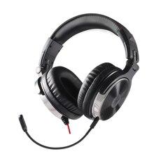 Oneodio игровая стереогарнитура для телефона ПК компьютерного наушники с микрофоном Over-Ear шумоподавления для ПК PS4 Xbox мобильный