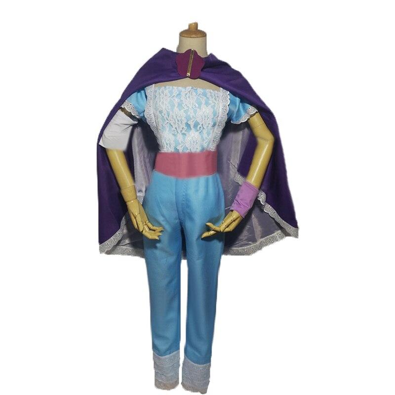 Moive Toy Story Bo Peep dress Halloween Cosplay Costume Anime Custom Made Dress