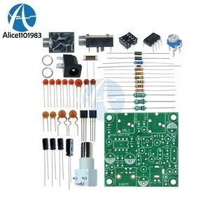 Bricolage Radio 40M CW ondes courtes transmetteur à ondes courtes Micro faible puissance Amplitude télégraphe QRP Pixie Kit récepteur 9A batterie 50 Ohm
