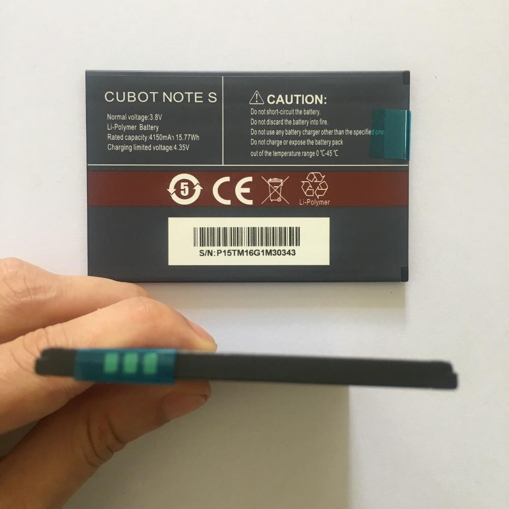 100% Nouveau CUBOT Note S Batterie 4150 mAh Remplacement de sauvegarde batterie Pour CUBOT Note S Téléphone portable