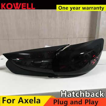 Car Styling for Mazda 3 Tail Lights 2015 Axela hatch-back version LED Tail Light dynamic turn signal DRL+Brake+Park+Sign