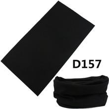 2016 Nueva Llegada Multifuncional Sin Costuras Bandana Ciclismo Bufanda Tubular Negro Sólido Diadema Turbante Bufanda Tubular Negro(China (Mainland))