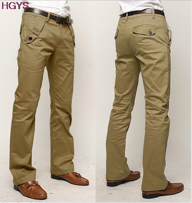 BOU 2020 Man's Cotton Leisure Trousers Cultivate One's Morality Style ICONS Pure Color Trousers