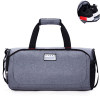 Unisex Sports Bag Big Capacity Gym Sports Bag Waterproof Multifunctional Fitness Travel Bag With Shoes Compartment