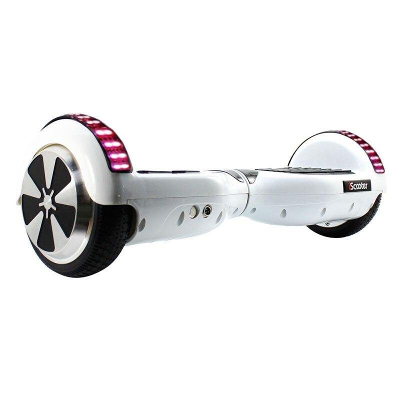 Hoverboard électrique de scooter d'iscooter 6.5 pouces 2 roues avec le scooter d'équilibre d'individu de sac de transport de Bluetooth - 3