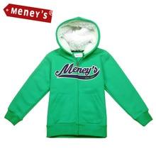 Garçons et Filles de Meney Classique Marque Vestes Chaud Hoodies Manteaux En Plein Air pour Enfants D'hiver Bébé Vêtements Survêtement Enfant Chaqueta 1-8Y