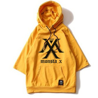 Kpop SEVENTEEN Album Hoodie Loose Hoodies Clothes Pullover Printed Three Quarter Sleeves Sweatshirts EXO GOT7 MONSTA X new