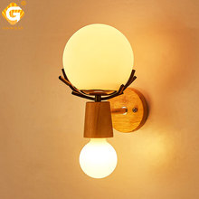 Creative Indoor Wall Light Home Interior Lamp LED Sconces For Living Room Bedroom bedside Hotel Night Lighting E27 Wall Lamps lamp bedroom bedside led wall lamp aisle stairs led lighting children room creative lamps wall sconces living room wall light