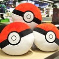 Direct deal pokemon plush toy Poke Ball Pendant stuffed Plush pillow Cost price wholesale 35cm