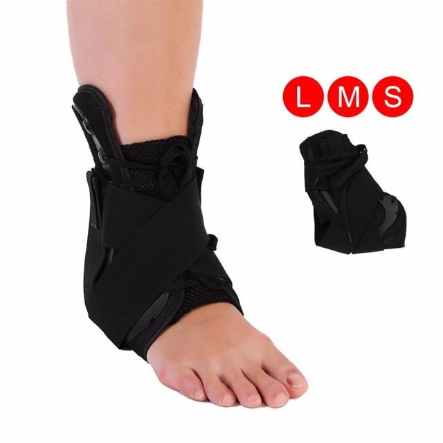 4c19846f57 Adjustable Ankle Brace Plantar Fasciitis Night Splint Joint Support  Orthosis Brace Fracture Fixed Bandage Sprain Strap Brace