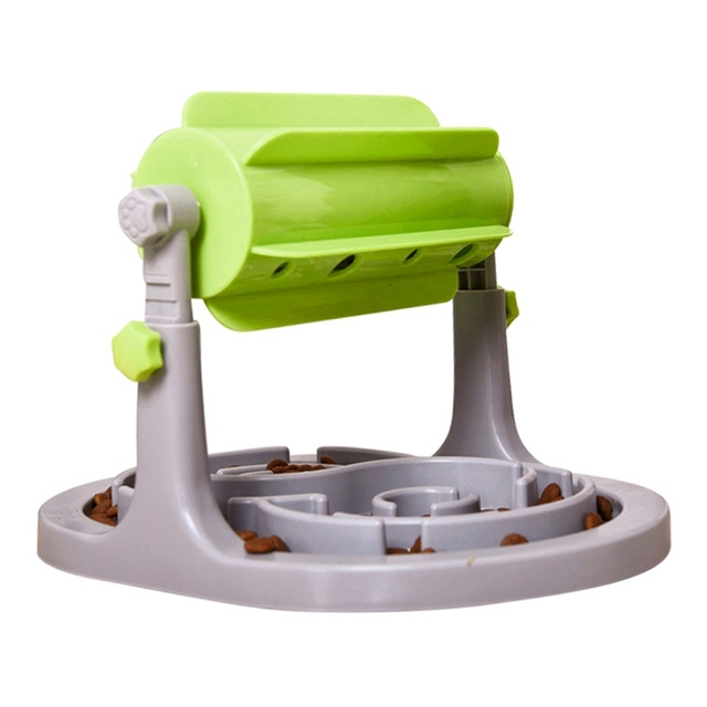 Pet Dog Funny Food Leaking Half Automatic Roller Leaking Food Device for Puppies and Cats Kittens Slow Feeder Pet Dog Supplies 1