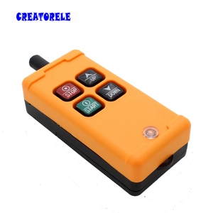 Image 3 - New Arrivals crane industrial remote control HS 4 wireless transmitter push button switch China