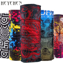 2017 New Fashion Dragon Bicycle Motorcycle Bandana Scarf Tube Scarf Gift for Baby Multifunctional Seamless Tubular Scarf HY15