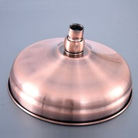 8 inch Antique Red Copper Brass Bath Rainfall Rain Bathroom Shower Head Bathroom Accessory (Standard 1/2) msh258
