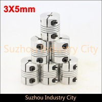 Flexible Shaft Coupling 14mm To 14mm Clamp CNC Starter Shaft Coupling Connector Diameter 45mm Length 60mm