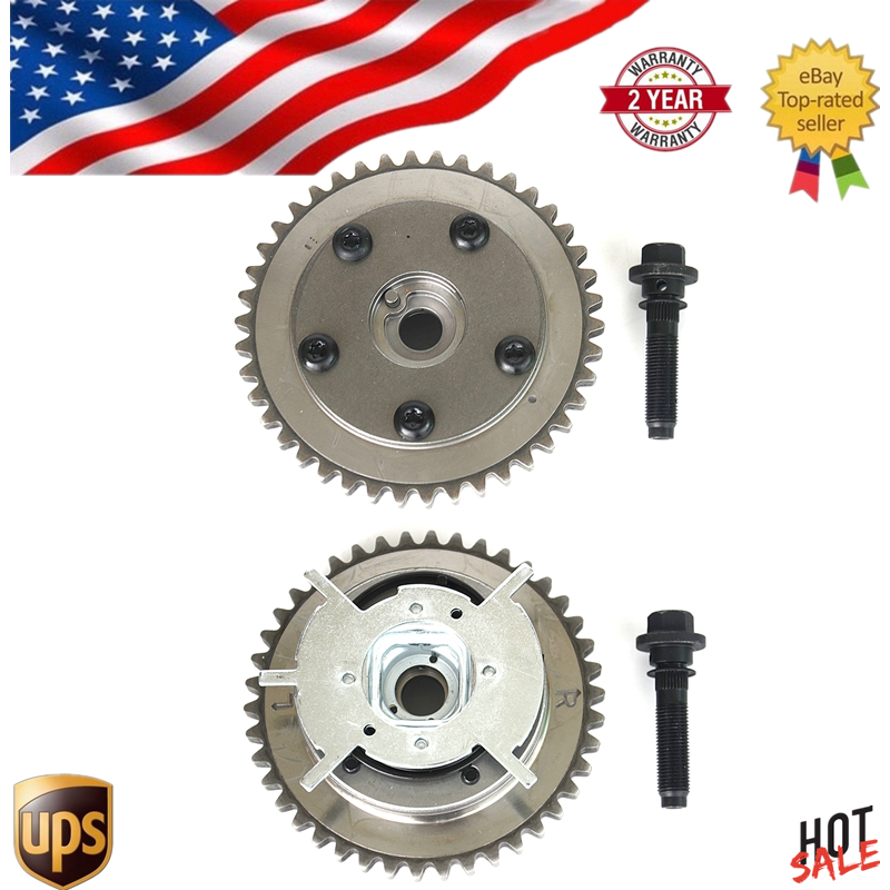 2pcs Camshaft Phaser Variable Timing Cam Gear For Ford f150 f 150 f250 250 f350 350 Mercury Lincoln 04-10 VVTi Actuator ,Bolts ford f 250 f250 f 350 f350 f 450 interior wood dash trim kit set 2011 2012 2013